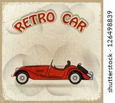 retro car | Shutterstock .eps vector #126498839