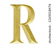 r rat text carve granite gold... | Shutterstock . vector #1265018476