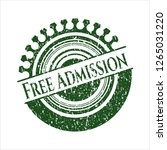 green free admission distress... | Shutterstock .eps vector #1265031220