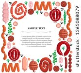 vector cover on the theme of... | Shutterstock .eps vector #1265088079