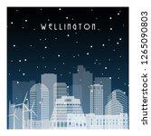 Winter Night In Wellington....