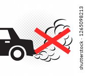 no idling turn engine off sign... | Shutterstock .eps vector #1265098213