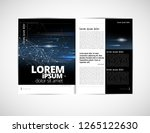 graphics brochures design... | Shutterstock .eps vector #1265122630