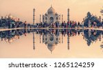 april 2018   agra  india  ... | Shutterstock . vector #1265124259