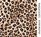 leopard design pattern | Shutterstock . vector #1265145046