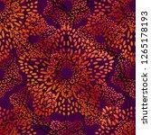 colorful gradient mandala... | Shutterstock .eps vector #1265178193