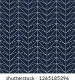 seamless retro pattern with... | Shutterstock .eps vector #1265185396