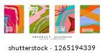 abstract universal grunge art... | Shutterstock .eps vector #1265194339