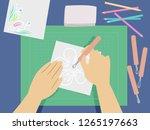 illustration of hands...   Shutterstock .eps vector #1265197663