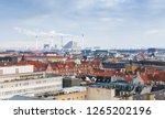 skyline of copenhagen. denmark | Shutterstock . vector #1265202196