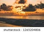 Orange Sunrise At Puri Sea...