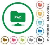 ftp print working directory... | Shutterstock .eps vector #1265204899