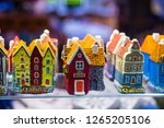 Colorful Houses. View Of...