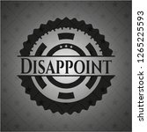 disappoint realistic black... | Shutterstock .eps vector #1265225593