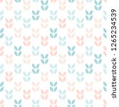 abstract floral seamless... | Shutterstock .eps vector #1265234539