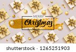 merry christmas and happy new... | Shutterstock .eps vector #1265251903