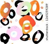 light multicolor  rainbow...   Shutterstock .eps vector #1265259289