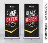 roll up banner design template  ... | Shutterstock .eps vector #1265262073