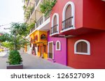 Colorful Apartment Building In...