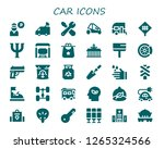 car icon set. 30 filled car... | Shutterstock .eps vector #1265324566