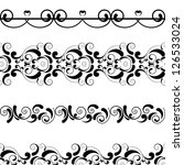 vector vintage decor | Shutterstock .eps vector #126533024
