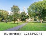 new haven green in new haven ... | Shutterstock . vector #1265342746