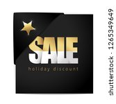 seasonal sale promotional... | Shutterstock .eps vector #1265349649