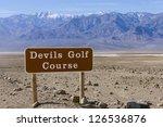 Devil�¢??s Golf Course and Telescope Peak