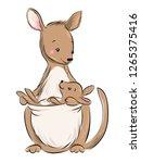 Australian Animal. Kangaroo...