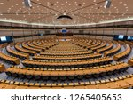 brussels  belgium   december 14 ... | Shutterstock . vector #1265405653