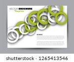 flyer  brochure  billboard...   Shutterstock .eps vector #1265413546