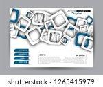 flyer  brochure  billboard...   Shutterstock .eps vector #1265415979