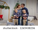 new year's family photography | Shutterstock . vector #1265438236