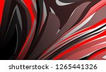 abstract wave background with... | Shutterstock .eps vector #1265441326