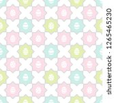 easter  spring seamless repeat... | Shutterstock .eps vector #1265465230