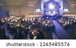 panorama blurred motion... | Shutterstock . vector #1265485576