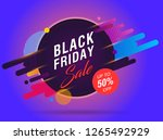 black friday sale abstract...   Shutterstock .eps vector #1265492929