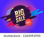 big sale abstract banner...   Shutterstock .eps vector #1265492950