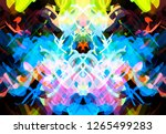 abstract background colored... | Shutterstock . vector #1265499283