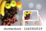 augmented reality or ar app...   Shutterstock . vector #1265503519