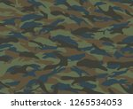 military camouflage concept | Shutterstock . vector #1265534053