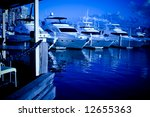 large yachts in the marina at... | Shutterstock . vector #12655363