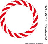 ropes. vector drawing related... | Shutterstock .eps vector #1265541283