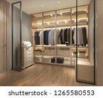 3d rendering luxury... | Shutterstock . vector #1265580553
