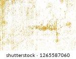 gold splashes texture. brush...   Shutterstock . vector #1265587060