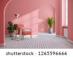 modern mid century and... | Shutterstock . vector #1265596666