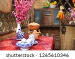 traditional decoration for tet... | Shutterstock . vector #1265610346