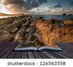creative concept image of... | Shutterstock . vector #126563558