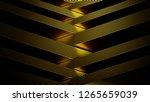 metallic gold silver background ...   Shutterstock . vector #1265659039