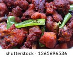 chicken 65  south india's...   Shutterstock . vector #1265696536